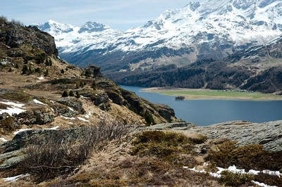 Silsersee from Blaunca