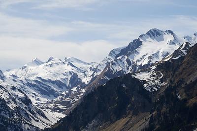 Gletscherhorn, Piz Predarossa, Piz Mungiroi, Piz Mäder