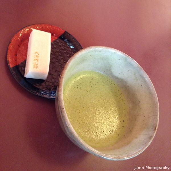 Matcha and a Sweet