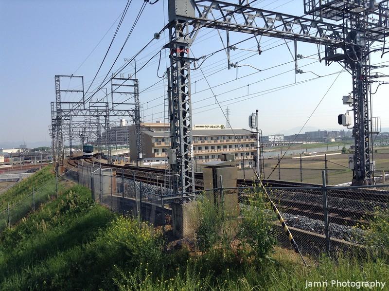 Keihan Train Approaching