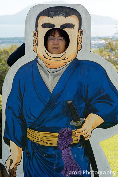 Ritsuko as Saigo Takamori