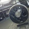 A Big Wheel.<br /> From a steam locomotive at the Umekoji Steam Locomotive Museum in Kyoto.