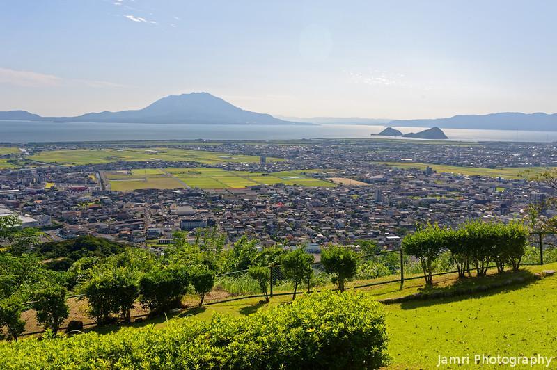 A Wider Shot Towards Sakura-jima