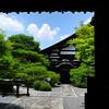 Through a temple gate