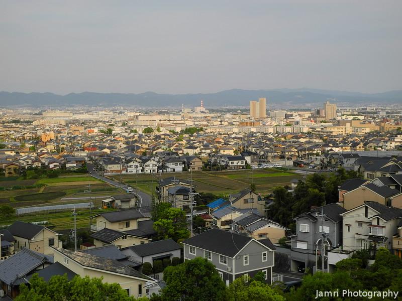 Towards the Centre of Nagaokakyo City
