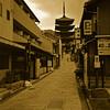 Towards Yasaka Pagoda