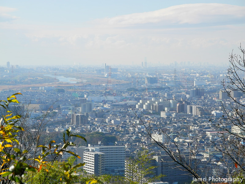The View Towards Takatsuki.<br /> From halfway up Mount Tenno.