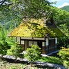 The World's Prettiest Toilet Building?<br /> The toilets near by some larger thatched roof buildings in Miyama-cho, Kyoto-fu.