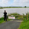Lower Bike Path Flooded.