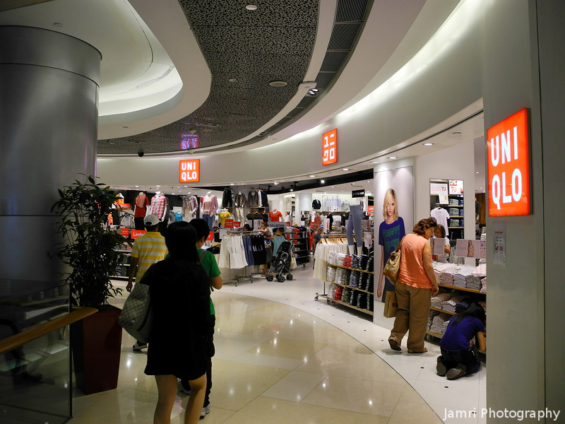 This was NOT taken in Japan!<br /> A Uniqlo Store in ION Orchard in Singapore.