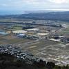 The View Towards the Sports Complex.<br /> Near Omi-Imazu, Shiga Prefecture.