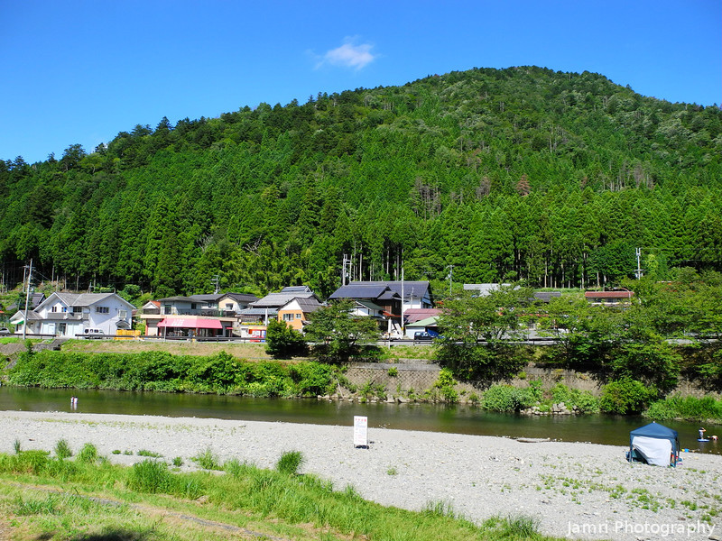 The Spot in Miyama.<br /> Were we've BBQed and swum twice recently. This was taken on our second visit to this spot.