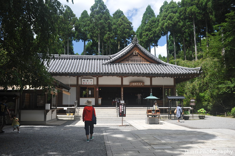 Towards the Temple Shop