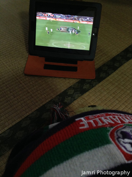 Watching the Preliminary Final Highlights