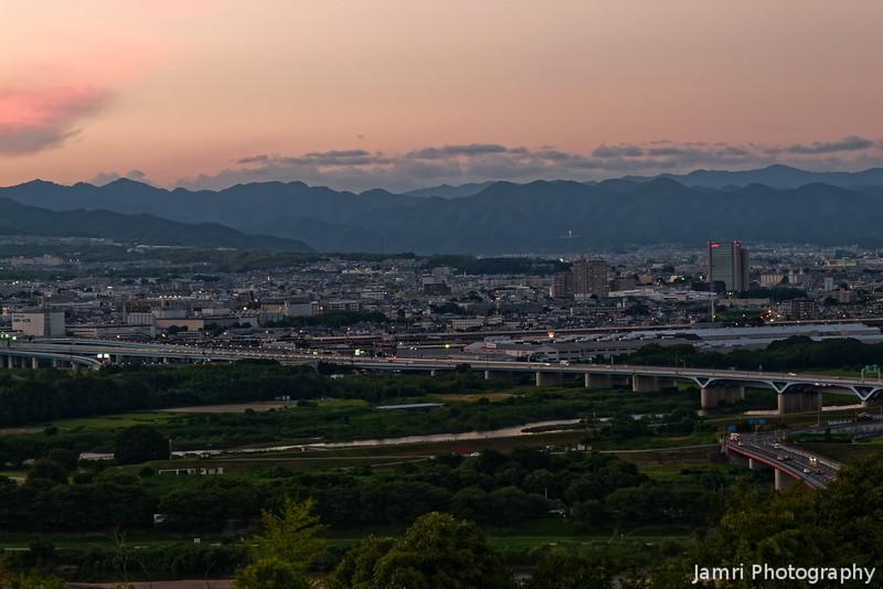 Sky Colour behind Nagaokakyo