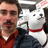 A Selfie with the Softbank Dog