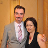 Ritsuko and I at the Reception.<br /> Of a wedding I had just officiated and with Ritsuko doing the translation to Japanese.<br /> Photo by David Blair.