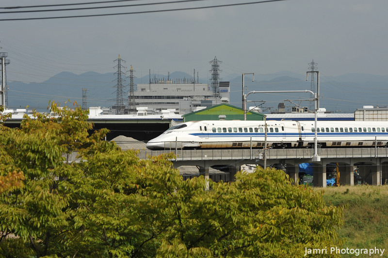 A 700 Series Heading Toward Osaka