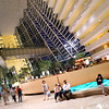"""Inside the Lobby of the Marina Bay Sands Hotel. No we didn't stay here, we stayed at the more modest V Hotel in Lavender. This is the last shot from the <a href=""""http://en.wikipedia.org/wiki/Marina_Bay_Sands"""">Marina Bay Sands Resort</a>..."""