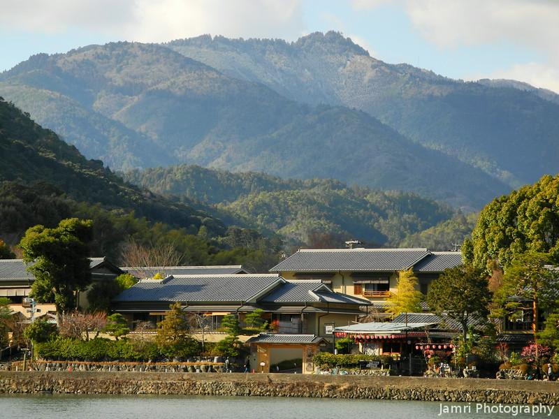 Zooming in Towards Mt. Atago