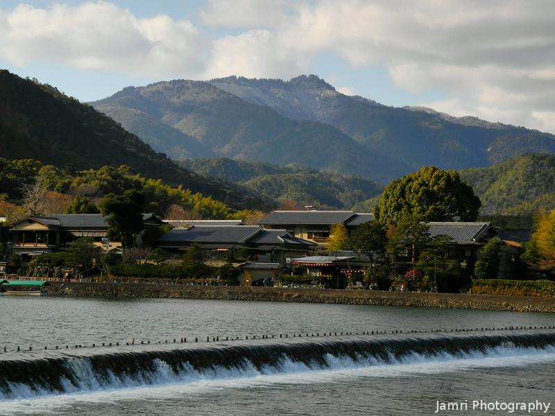 A View Towards Mt. Atago