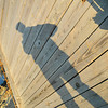 My Shadow on the Wood.