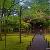 A Parting Shot of Ojo Gokuraku-in Hall