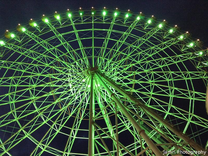 The Wheel at Rinku Town