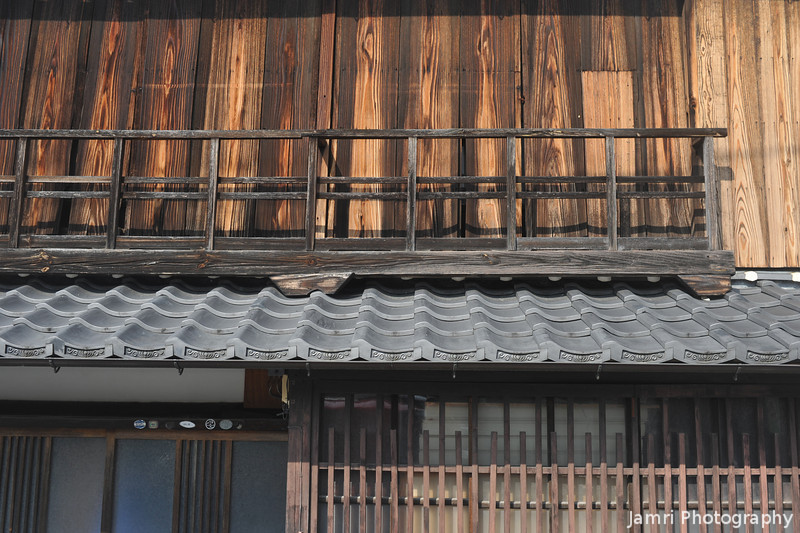 Up Close to a Traditional House