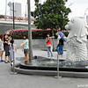 At the mini-Merlion.