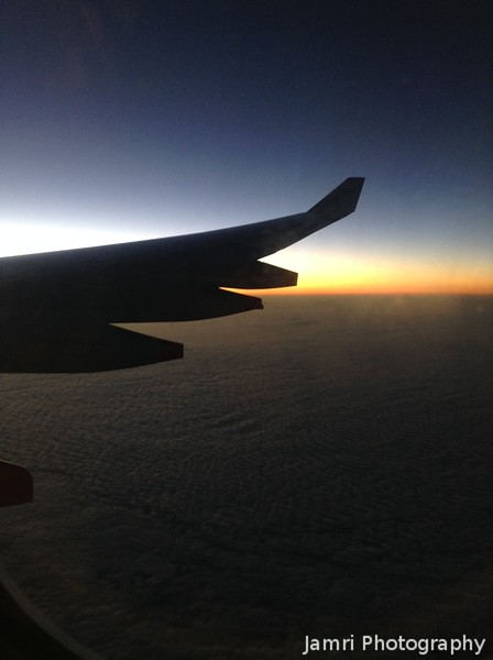 Sunrise from the Next Plane