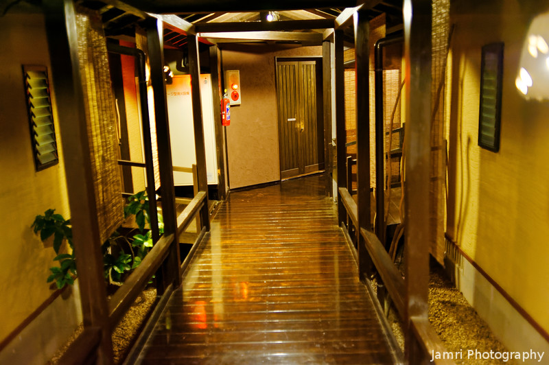 The Hallway of the Ryokan