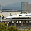 An N700 Series Heading Toward Osaka