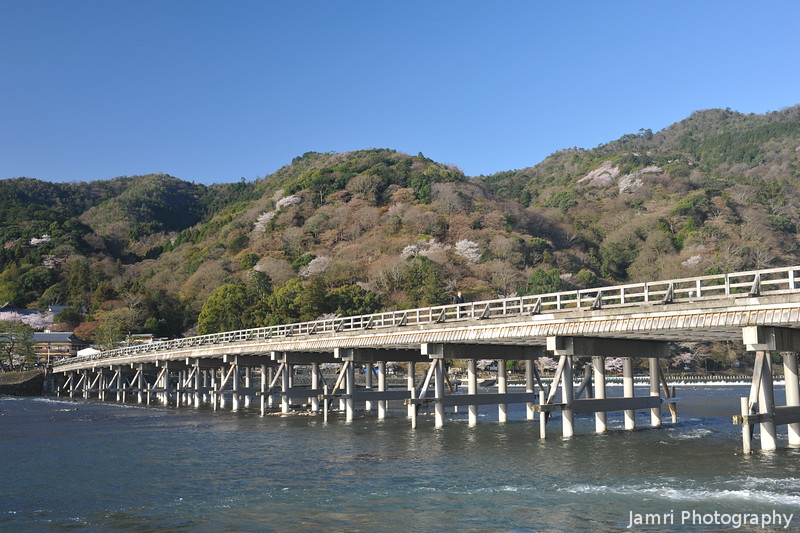 Up Close to the Togetsukyo.