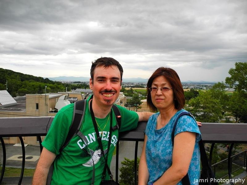 Us at Asahiyama Zoo