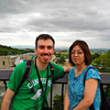 Us at Asahiyama Zoo