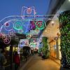 Christmas Decorations at the Aeon Mall.<br /> In Kumiyama, Kyoto-fu.