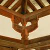 Unusual Architectural Features.<br /> At Houryu-ji, Ikaruga-cho, Ikoma-gun, Nara-ken, Japan.