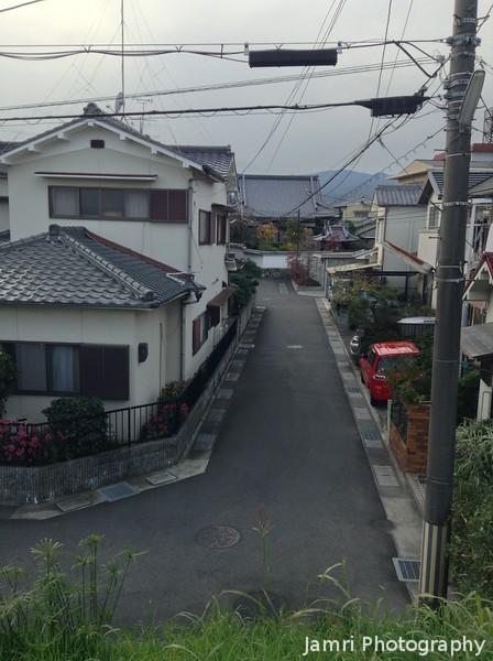 A View Down a Street.