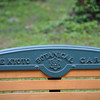 Bench Seat.<br /> At the Kyoto Botanical Garden.