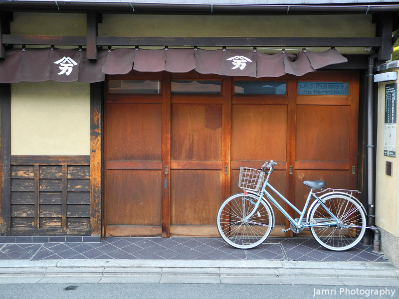 Bicycle and Traditional House