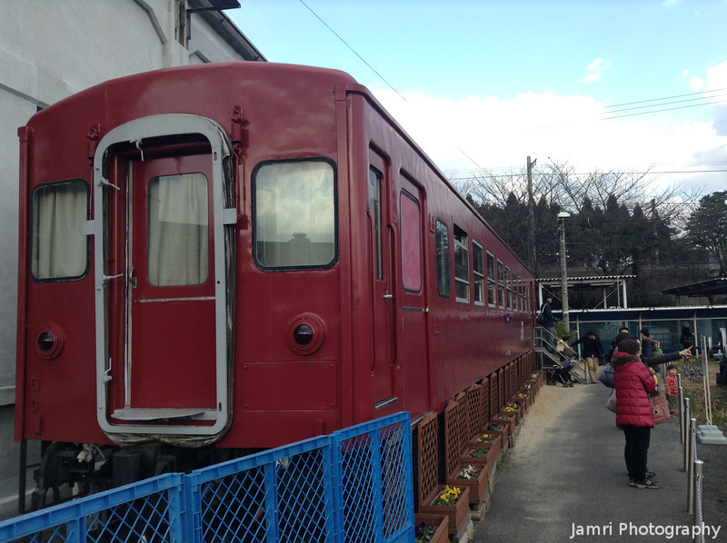 A Red Carriage.<br /> On display at the Umekoji Steam Locomotive Museum in Kyoto.