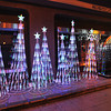 Roadside Christmas Decorations.<br /> Part of the 2012 Osaka Hikari Renaissance.
