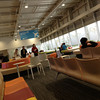 Domestic Departure Lounge Kansai Airport Terminal 2.<br /> Not bad for a departure lounge for the all LCC (Low Cost Carriers) Terminal 2.