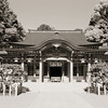 The Main Hall of Nagaoka Tenmangu Shrine