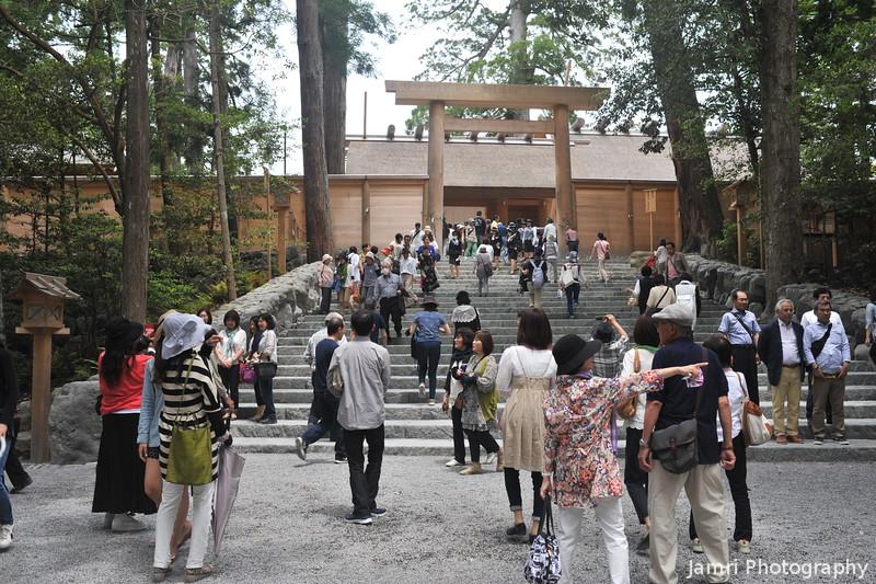 Towards the Main Shrine