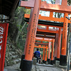 Coke Machine and Torii Gates
