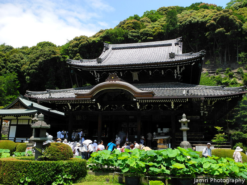 Mimuroto-ji.<br /> The main temple building.