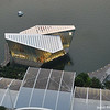 A floating Louis Vuitton store.<br /> At the Marina Bay Sands Resort.
