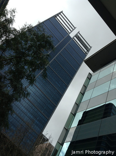 Looking Up at Perth's Biggest Building